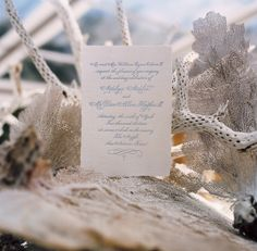 Wedding invitations! #theargyle www.jwilkinsonco.com #photography #film #invitations #wedding #beach
