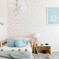¡Por un 2017 simple y muy feliz! 5 Habitaciones infantiles sencillas ¡y súper bonitas! http://www.decopeques.com/habitaciones-infantiles-sencillas-super-bonitas/