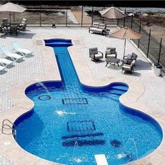 Guitar pool:)