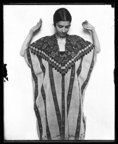 Ilonka Karasz, 1916, in Native American garb - Google Search