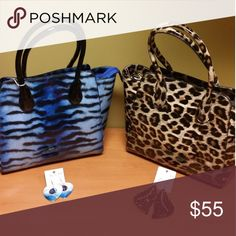 Ladies Small Tote Bags Ladies Small Patent Leather Animal Print Totes Bags Totes