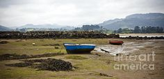 Asturias panoramic seascape with boats http://fineartamerica.com/featured/asturias-seascape-with-boats-frank-tschakert.html