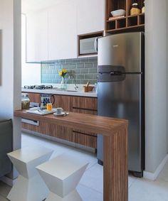 Cozinha Americana Pequena: 60 Projetos para se Inspirar