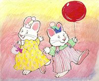 Max & Ruby's Bunny Party!
