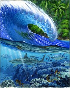 Surf Art by Phil Roberts | Phil Roberts Art
