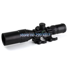 3-9x32 AO Hunting Optical 1inch Tube Mil-dot Compact Riflescope With Sun Shade and QD Rings Tactical Rifle Scope #Affiliate