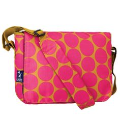 My Sweet Dreams Baby Kid S Messenger Bags Dots Hot Pink Http