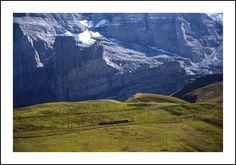Tren cremallera al glaciar Junfrau