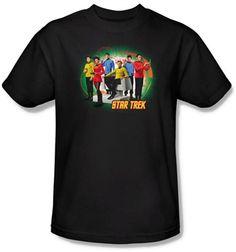 Star Trek shirt $20 for the trekkie in your life OldSchoolTees.com