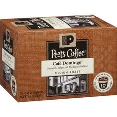 Peets Caf Domingo 120 Single Cup *** Read more reviews of the product by visiting the link on the image.