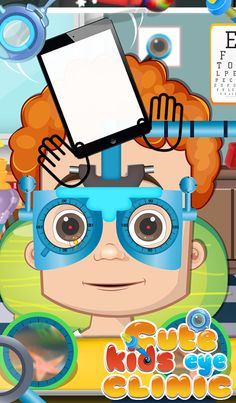 Hey Kids, do you have a dream to become an Eye specialist? Now you have a chance to become an Eye doctor by Cute Kids Eye Clinic Game by GameiMax. Try your hands on eye doctor by this game and cure some eye problems of patients properly.  https://play.google.com/store/apps/details?id=com.gameimax.cutekidseyeclinic