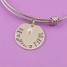 Be•YOU•tiful Charm Bracelet – Silver Statements