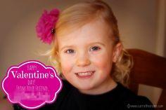 DIY Photo Valentine Tutorial.  Easy and frugal way to make cute Valentines!