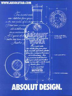 Absolut Design! Blue sketch