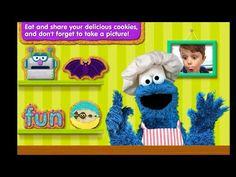 Sesame Street - Alphabet Kitchen with Cookie Monster Yummy Cookies, Cookie Monster, Alphabet, Street, Youtube, Kitchen, Fun, Pictures, Cuisine
