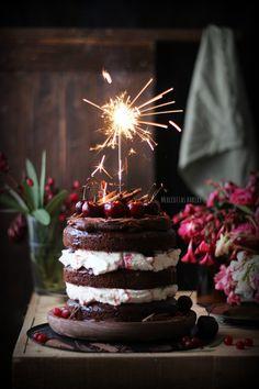 ... black forest cake ...