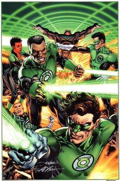 Green Lanterns by Neal Adams