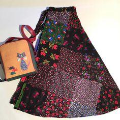 Diy Fashion, Fashion Design, Bohemian, Skirts, Dresses, Style, Creative, Gowns, Skirt