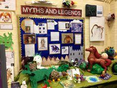 Myths & Legends Display.