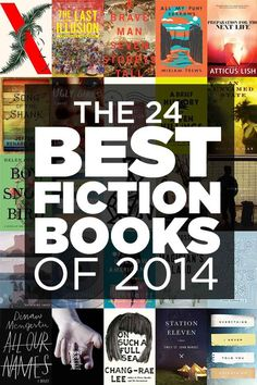 Since we're coming up on the end of the year here is a recap of the 24 Best Fiction Books Of 2014!
