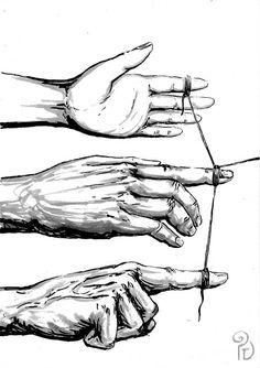 Pablo Barrio Tena: (hu)Manos y cuerdas Decoration, Ideas, Ropes, Hands, Art, Decorating, Deko, Dekoration, Thoughts