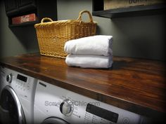 If you've been following my blog, I spent all of last week in my laundry room showing my cabinet transformation. From transforming laminate cabinets to the diy pallet crates you see above. I was...