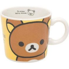 Sanx Rilakkuma Mug Cup Rilakkuma >>> Check out this great product. (This is an affiliate link)