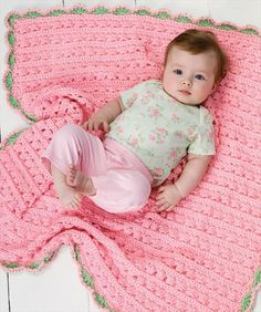 Cuddle & Coo Blanket Crochet Pattern love this baby blanket need to show this to mom! Bag Crochet, Baby Afghan Crochet, Manta Crochet, Baby Afghans, Love Crochet, Crochet Blanket Patterns, Crochet For Kids, Crochet Crafts, Crochet Projects