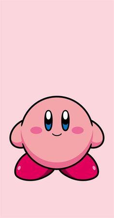 Kawaii Wallpaper, Wallpaper Iphone Cute, Kirby Character, Mini Canvas Art, Character Wallpaper, Pink Iphone, Cute Pokemon, Cute Cartoon Wallpapers, Game Art