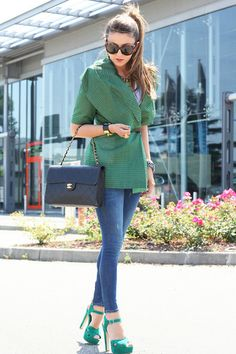 Green passion (by Nicoletta Reggio) http://lookbook.nu/look/3720639-Green-passion