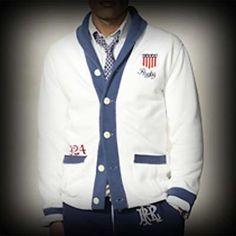 Ralph Lauren Rugby メンズ ジャケット ラルフローレンラグビー USA Crest Fleece Cardigan ジャケット-アバクロ 通販 ショップ #ITShop