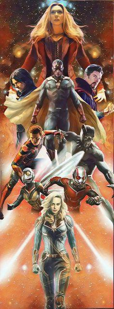 The New Avengers (fan art)