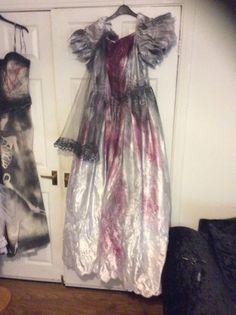 Halloween Zombie , dead corpse , vamp bride Sz 12 see shop selling them off cheap  buy Today send tommorow 1st class or upgrade next day by Halloweencreation on Etsy