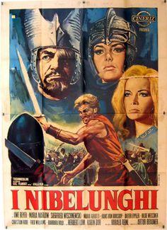 Die Nibelungen, Teil 1 - Siegfried (1966) Stars: Uwe Beyer, Rolf Henniger, Siegfried Wischnewski ~ Director: Harald Reinl ( Won the German Golden Screen Award)