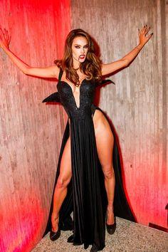 Alessandra Ambrosio, Sexy Vampire Costume, Halloween Vampire, Halloween 2019, Halloween Night, Best Celebrity Halloween Costumes, Vampire Girls, Estilo Rock, Goth Beauty
