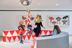 A room filled with furniture experimentations and an exhibition designed for children feature in an Eames retrospective on show at the Vitra Design Museum. Vitra Design Museum, Charles & Ray Eames, Ray Charles, Kid Spaces, Interior Design, Celebrities, Kids, Children, Exhibitions