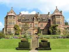 Knightshayes Court Nr Tiverton, a National Trust property English Country Manor, English Manor Houses, English Countryside, Beautiful Castles, Beautiful Buildings, Dream Mansion, Grand Homes, Beautiful Architecture, Historic Homes