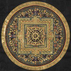 Avalokiteshvara Yantra #ॐ #Mandala