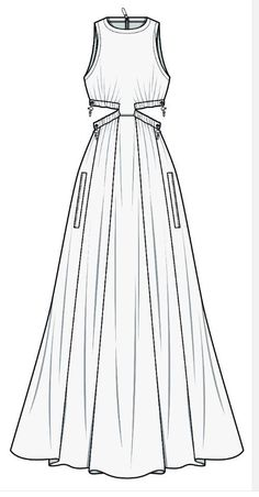 Pants fashion flat technical drawing template Best Picture For fashion sketches ideas For Your Taste Dress Design Sketches, Fashion Design Sketchbook, Fashion Design Drawings, Fashion Sketches, Fashion Drawing Dresses, Fashion Illustration Dresses, Drawing Fashion, Fashion Figures, Fashion Models