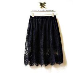 'Tulander – Lace A-Line Skirt'