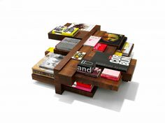 coffee table Manhattan by Roderick Vos