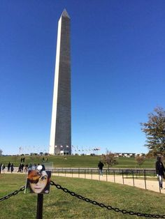 043/300 Washington monument – Constitution Gardens – Washington DC – USA