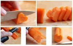 heart-shaped carrot