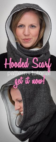 Women's sewing tutorials | winter sewing tutorials | scarf pattern (affiliate link)