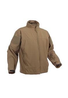 Covert Ops Soft Shell Light Weight Coyote Jacket ! Buy Now at gorillasurplus.com