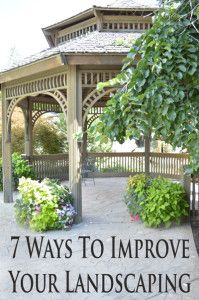 These are all non-plant ways to add to, and improve your landscaping. Some really fun ideas.