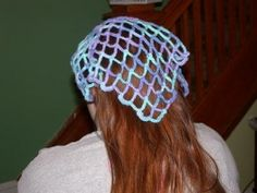 Crochet Hair Kerchief Pattern : Ravelry: Lacy Crochet Kerchief pattern by Kristen TenDyke hats ...