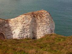 White cliffs (Flamborough head)