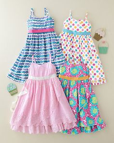 Water's Edge Cotton Dress - Baby Girls & Girls