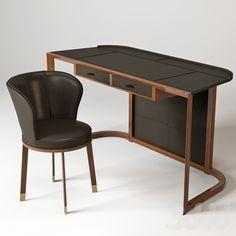Giorgetti Ion Desk & Ode Chair